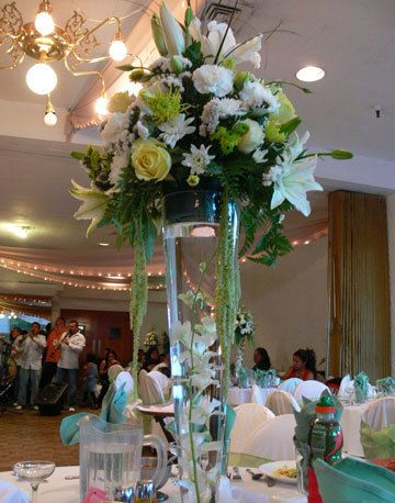 Tall Fresh Flower Centerpiece