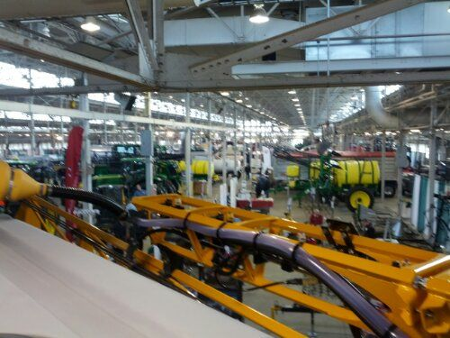 We went to a farm show in Indianapolis this week. Click to find out what else is happening on our farm!