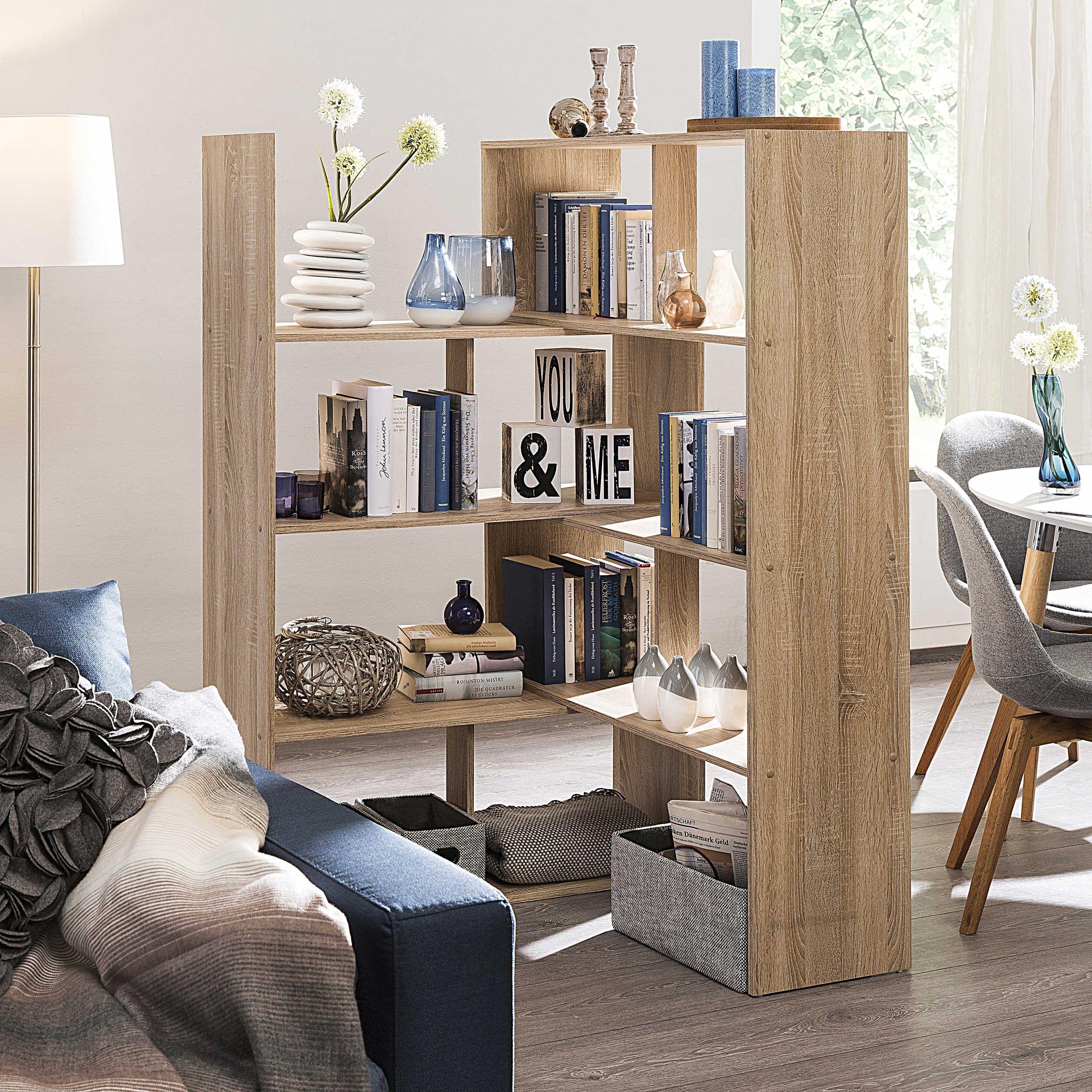 Regal Spello Raumteiler Regale Wohnzimmer Möbel