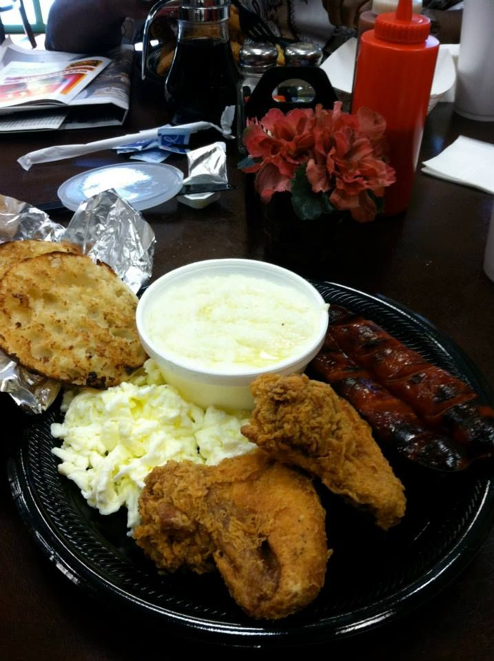 Gritz Cafe Las Vegas Nv Fried En Grits Link English In Eggs Find This Pin And More On Best Breakfast Restaurants