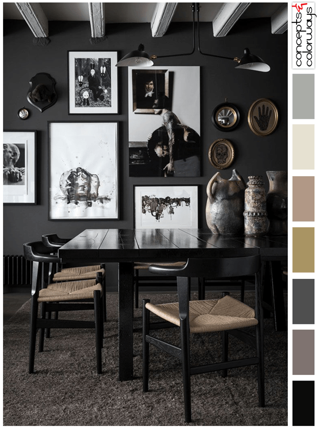 Best Of Gray and Taupe Color Palette