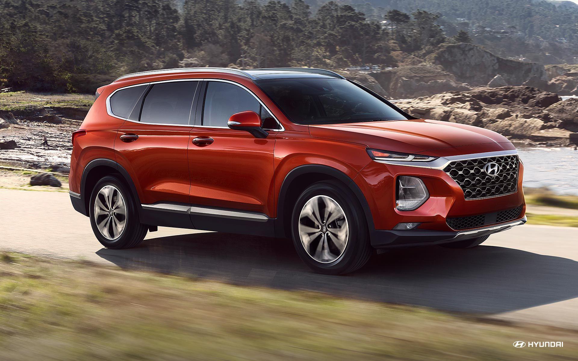 2019 Hyundai Santa Fe Side View Hyundai Santa Fe Hyundai Santa Fe Price Hyundai