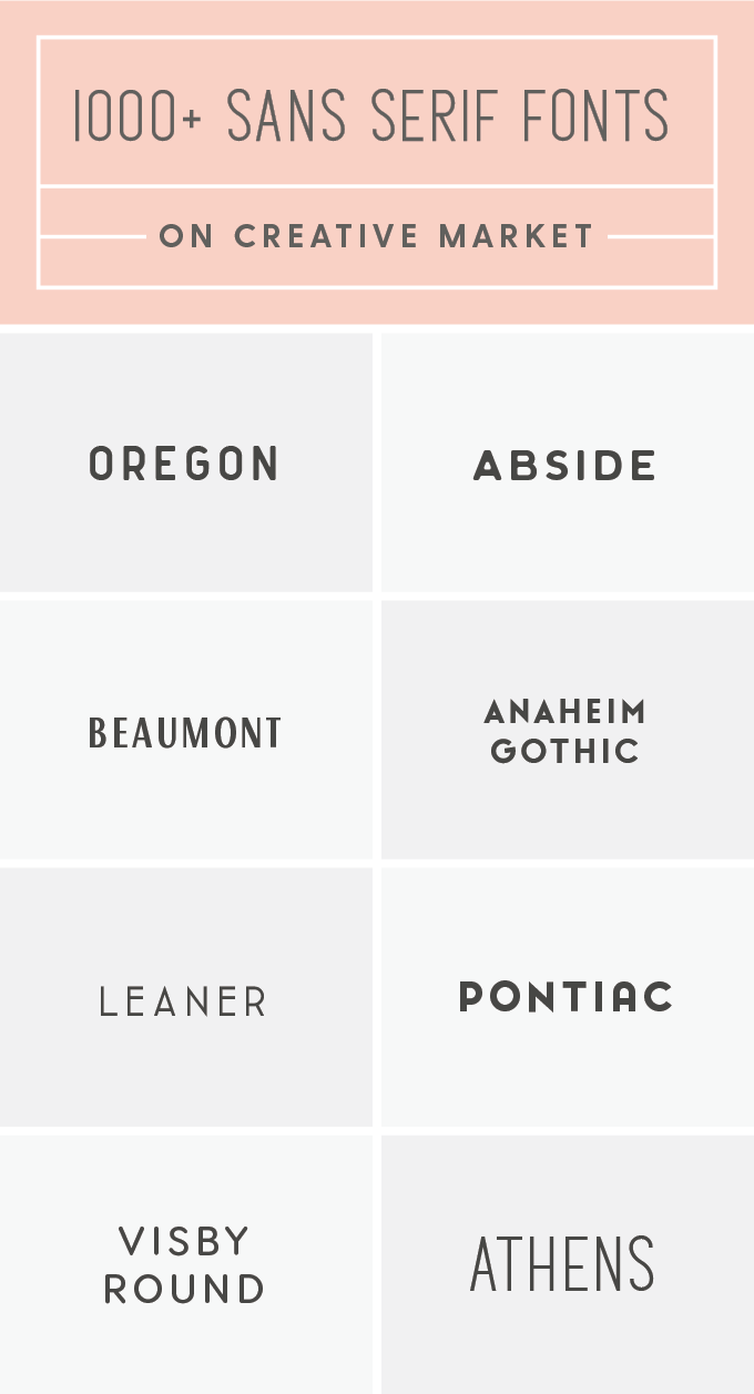 The Best Sans Serif Fonts For Your Next Creative Project