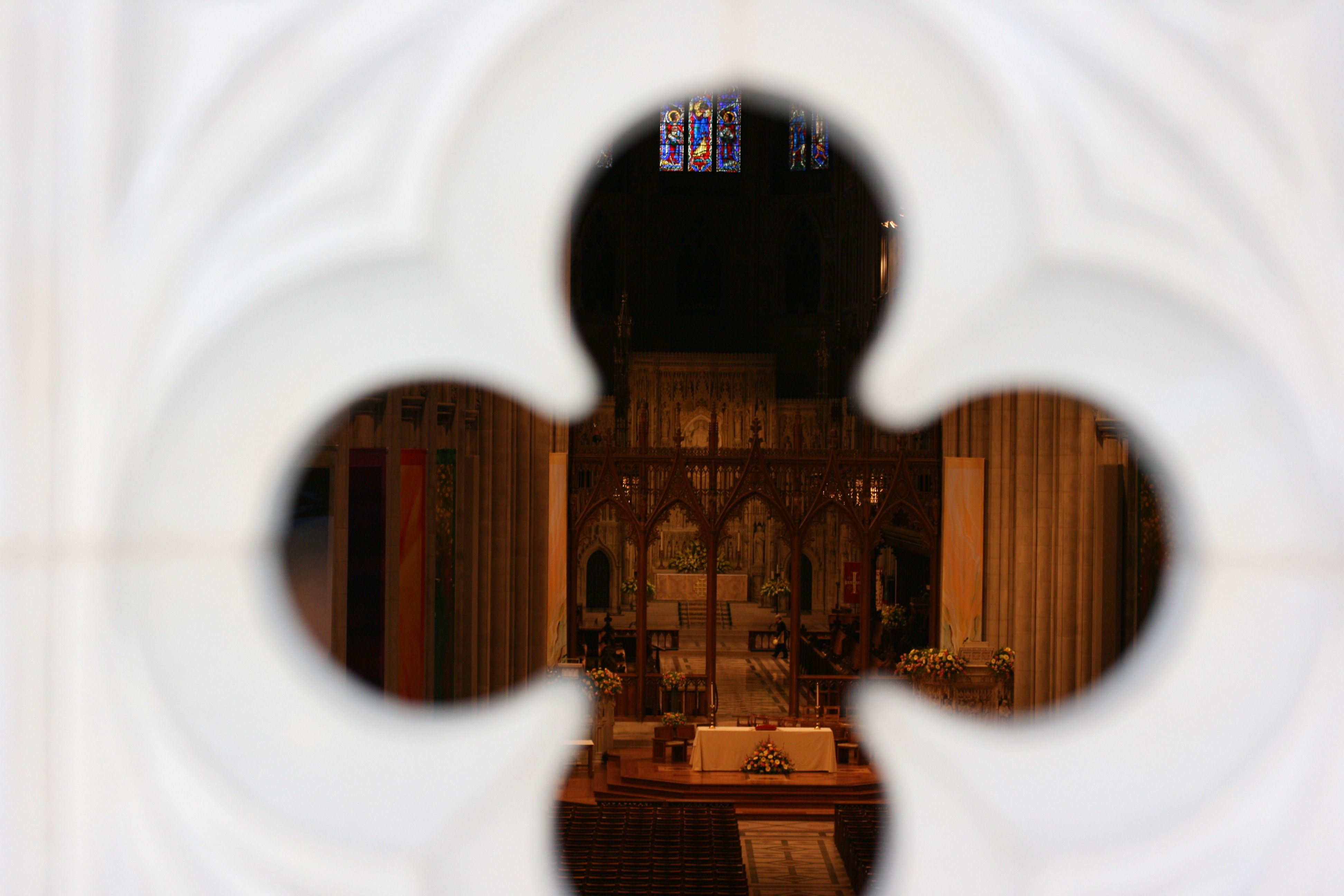 National Cathedral through my son's eyes