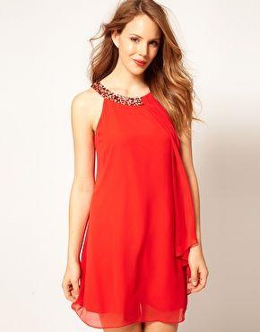 2ca1a65863185 imágenes de vestidos de corte trapecio (6)   Diseño de modas ...