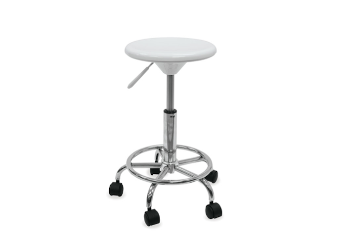 Studio Stool With Wheels From Blick Remodelista