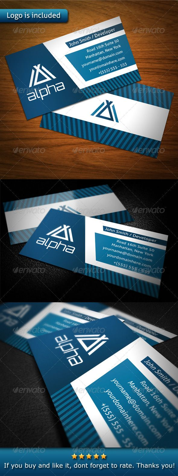 Tech Business Card Business Cards Tech And Fonts