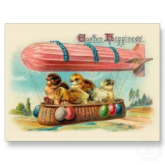 Vintage Easter Card postcard