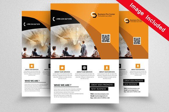 Professional Flyer Templates Flyer Template Business Flyers And