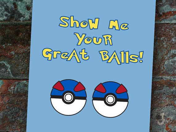 Show Me Your Great Balls STR-081 Funny Naughty by skiptheroses