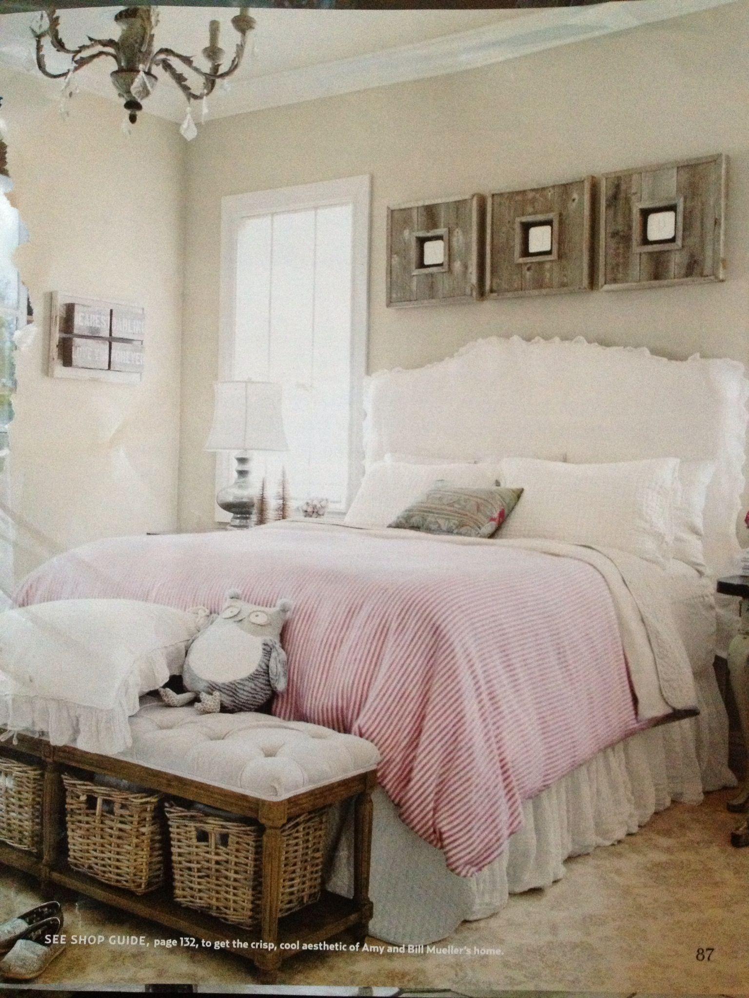 Sweet bedroom Country Living Mag Bedrooms