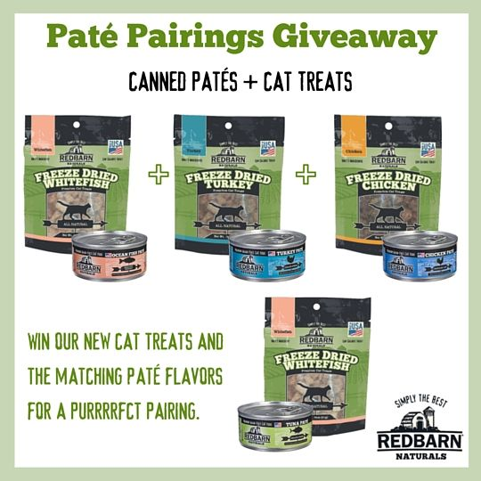 purrrfect pate pairings giveaway cat food 1 time entry exp
