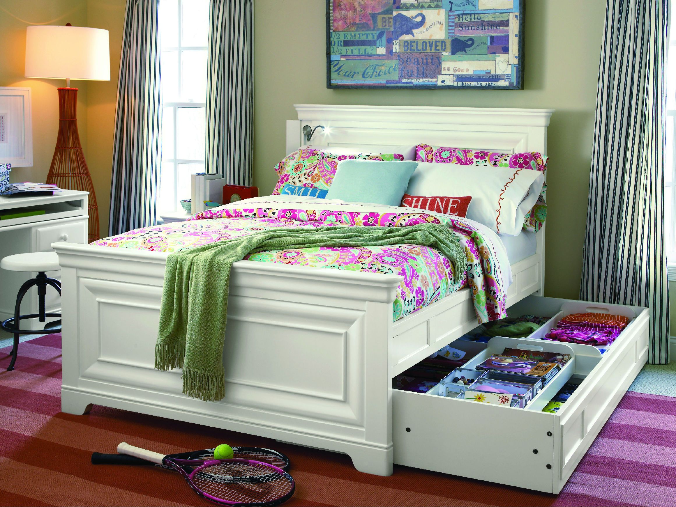 Smartstuff by Universal Youth Bedroom Full Panel Bed at