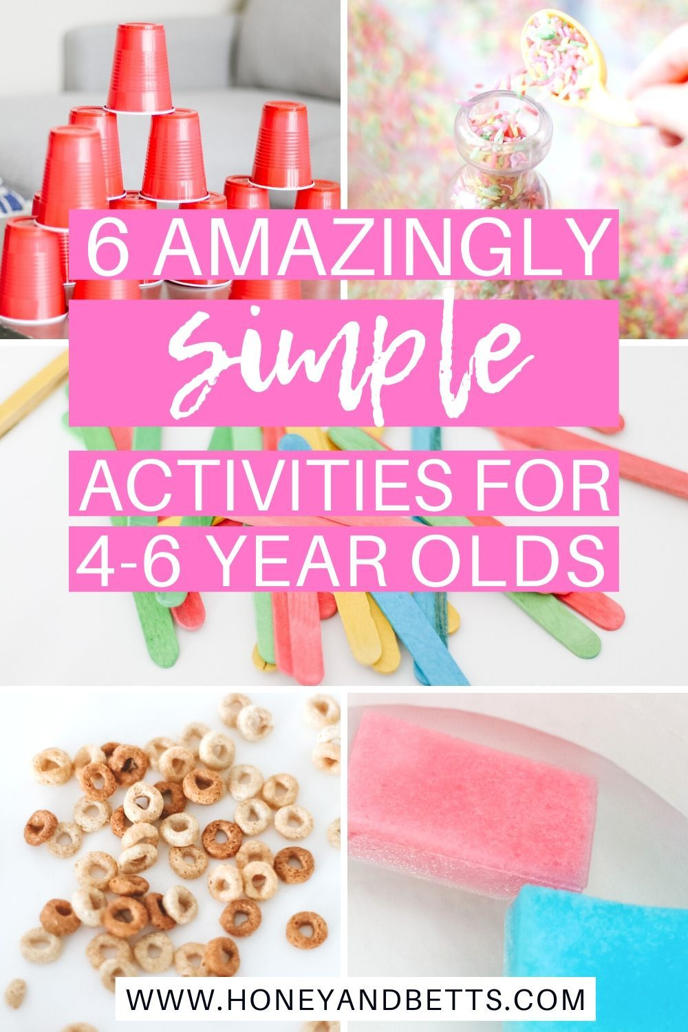 Fun Activities For 4-6 Year Olds At