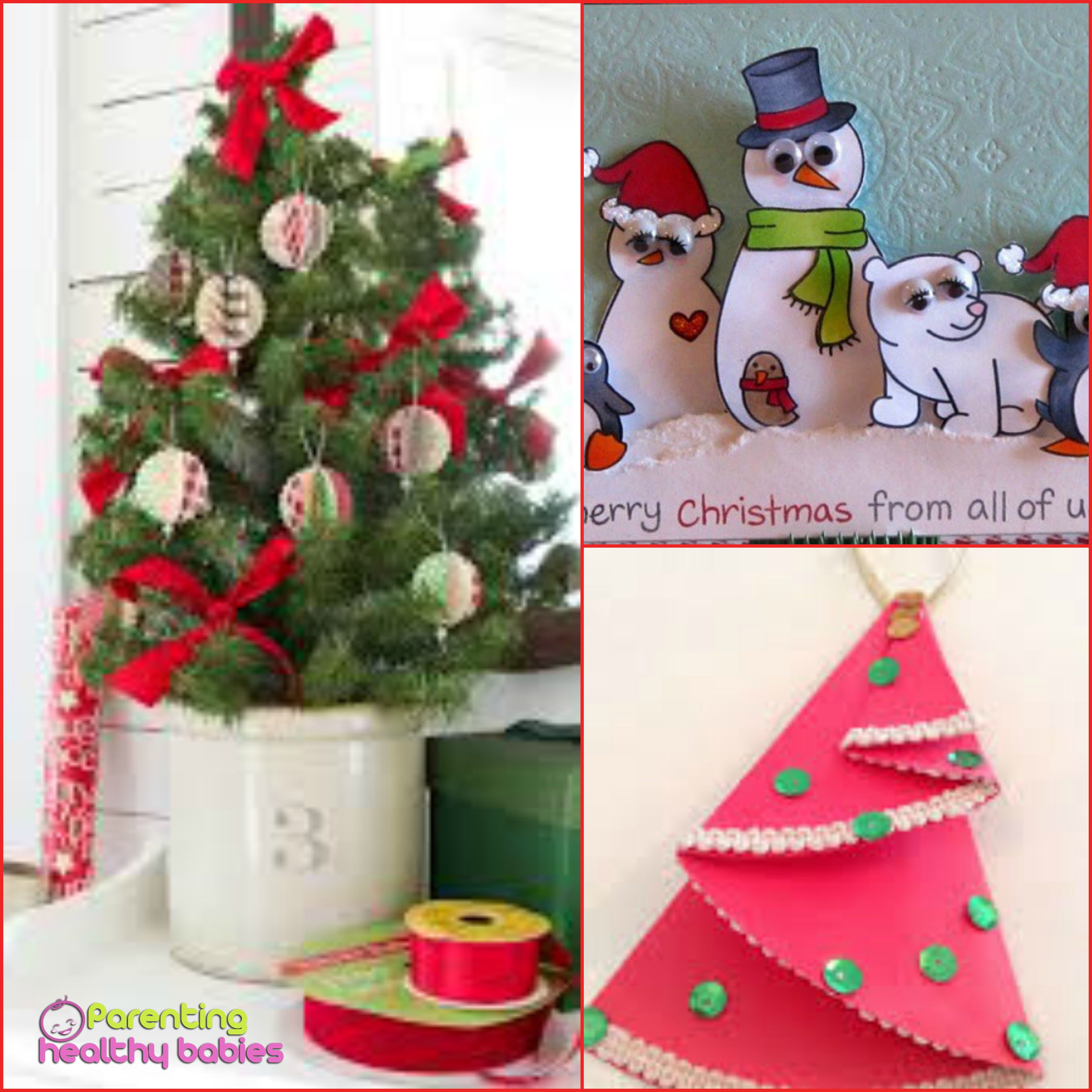 DIY Christmas Craft Idea for Toddlers Parenting Healthy Babies