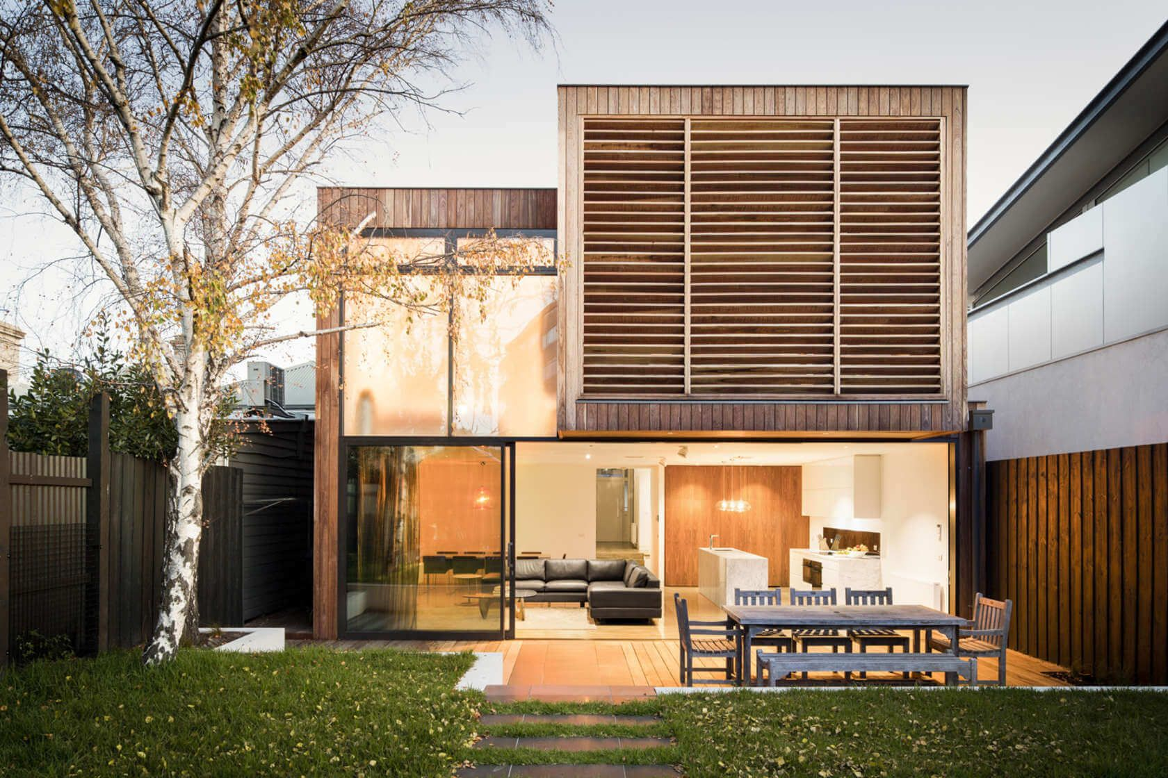 Middle Park House by Mitsuori Architects | Arch - Double + : Parapet ...