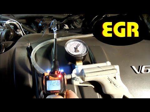 Como probar valvula EGR y solenoide de vacio; y como funciona el sistema (version detallada)