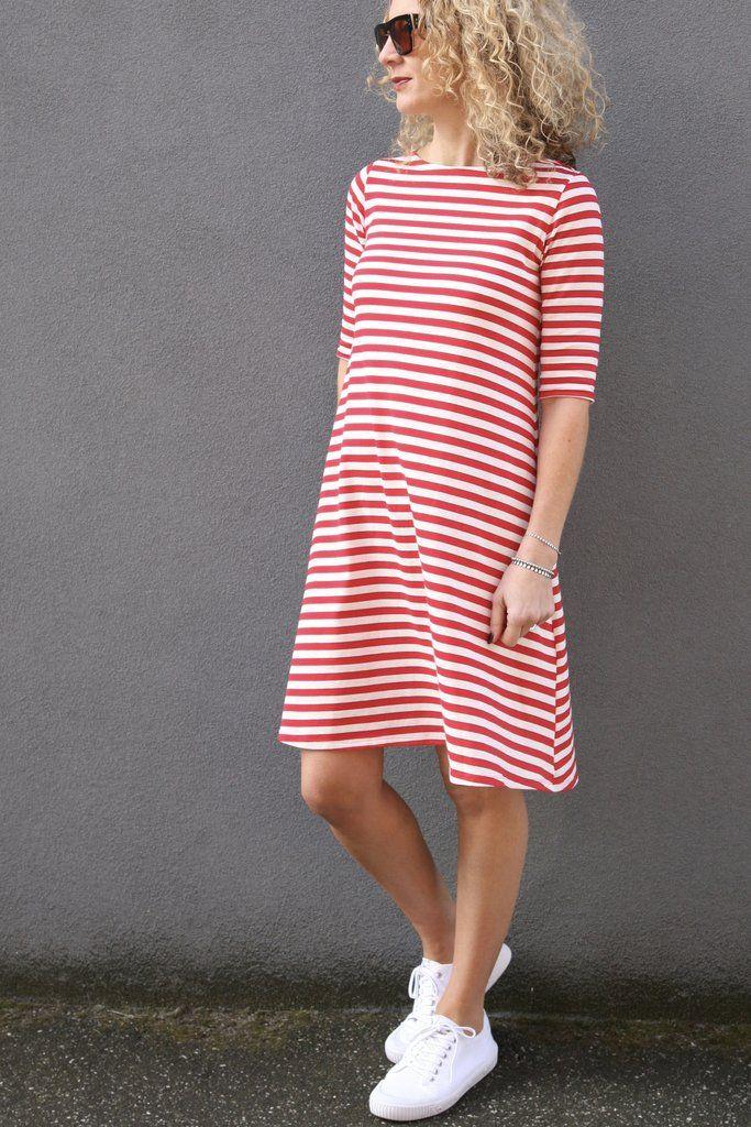 Frankie Topdress Pattern Dress Patterns Jersey Knits And Patterns