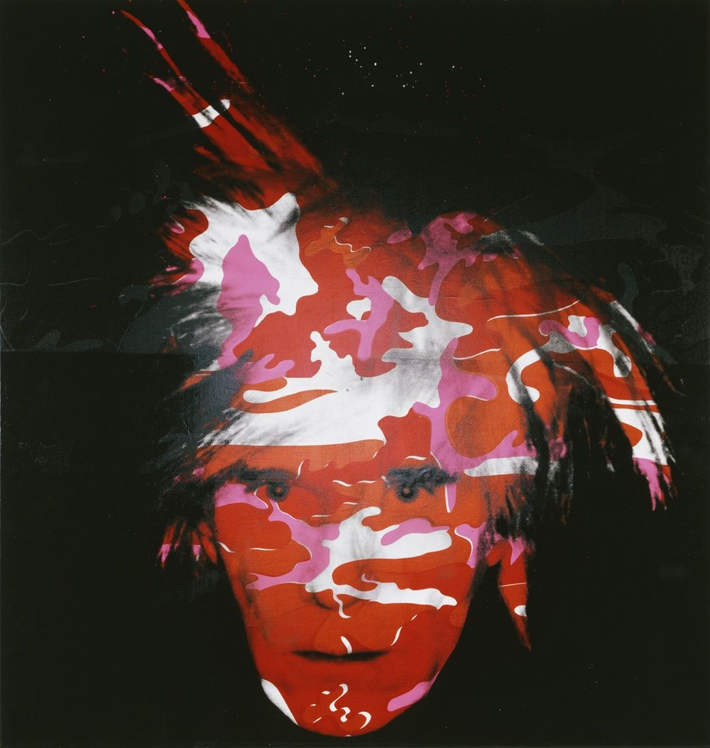 "Andy Warhol ""Camouflage Self Portrait"" My FAVORITE Piece Of All Time"