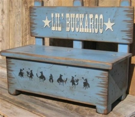 Fine Cowboy Brand Furniture Toy Box Bench Craft Ideas Kids Caraccident5 Cool Chair Designs And Ideas Caraccident5Info