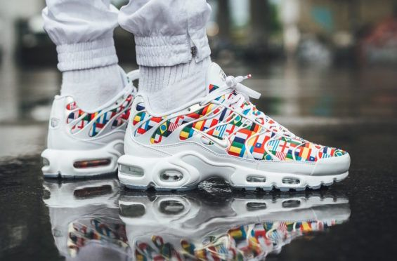 dff003e65b The Nike Air Max Plus One World (International Flag) Honors The World Cup