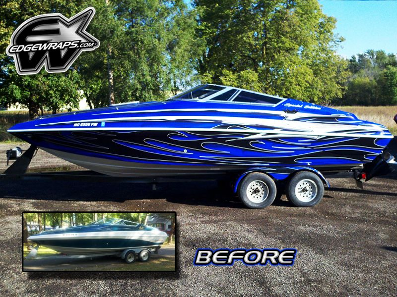 Custom Vehicle Wraps Lansing Mi Boat Wraps Boat Stuff Boat