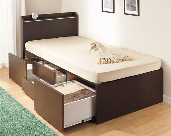 ニトリ 収納 ベッド 取り出しやすい〜!ニトリの「収納ケース」でベッド下のイライラがな...