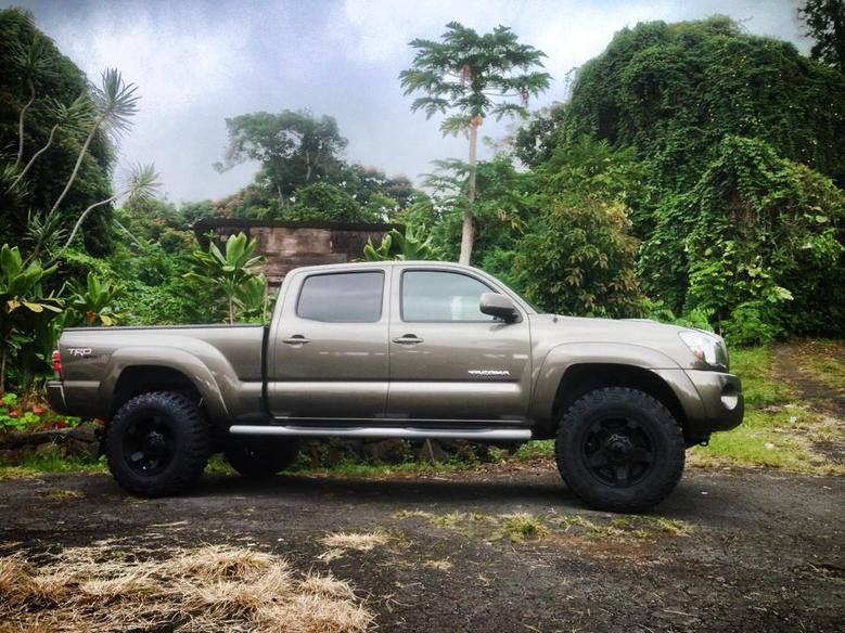 Toyota 4X4 double cab long bed Pyrite Mica Toyota