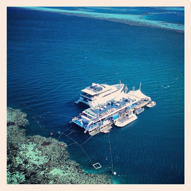 Saying goodbye to everyone from up-above #hamiltonisland#reefworld#upabove#helicoptertour