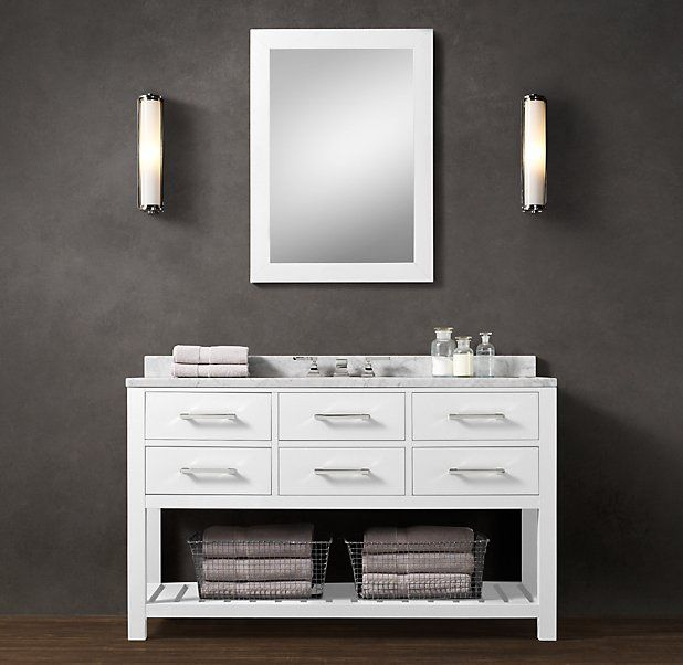 Elegant Restoration Hardware Bathroom Cabinets