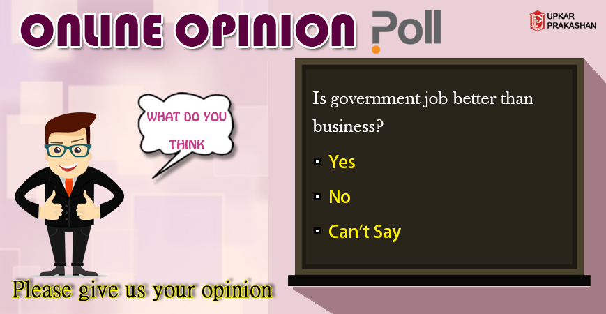Online Opinion Poll What do you think? Please give us your