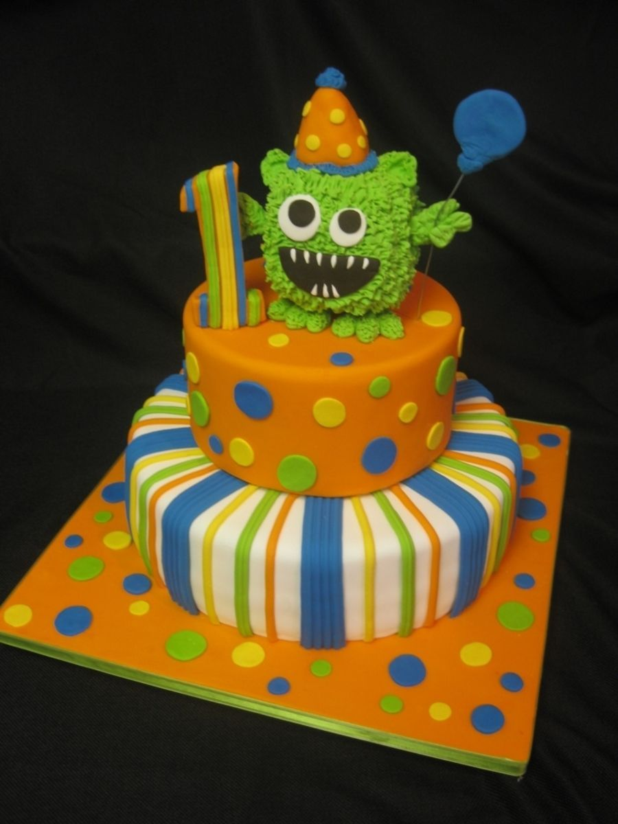 Photo of Little Moster Birthday Cake-Little Moster Birthday Cake  Little Moster Birthday …
