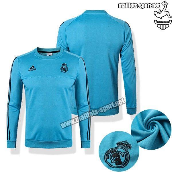 La Boutique Sweat De Foot Bleu Real Madrid 2017 2018 Col