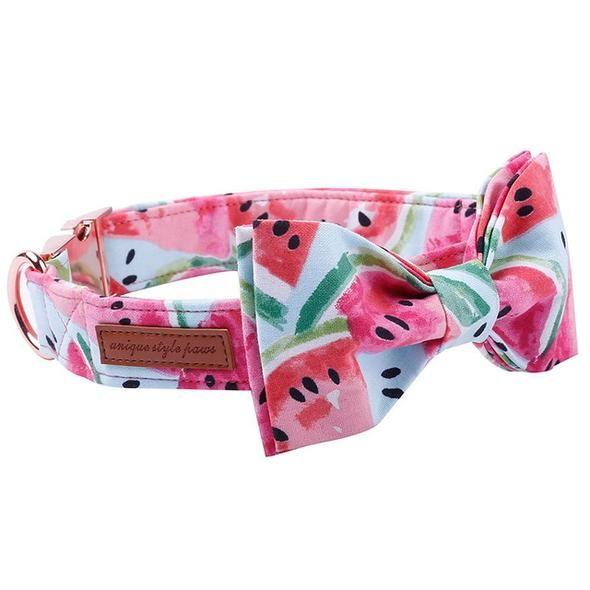 c0b39927a31f pink dog collar and leash set. pink dog collar and leash set Bow Tie Collar  ...