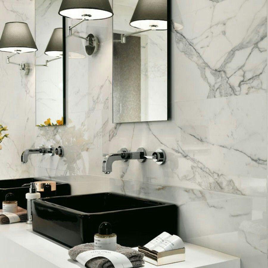 Marvel Calacatta Extra Gloss Glazed Ceramic Wall Tile 305x915mm ...