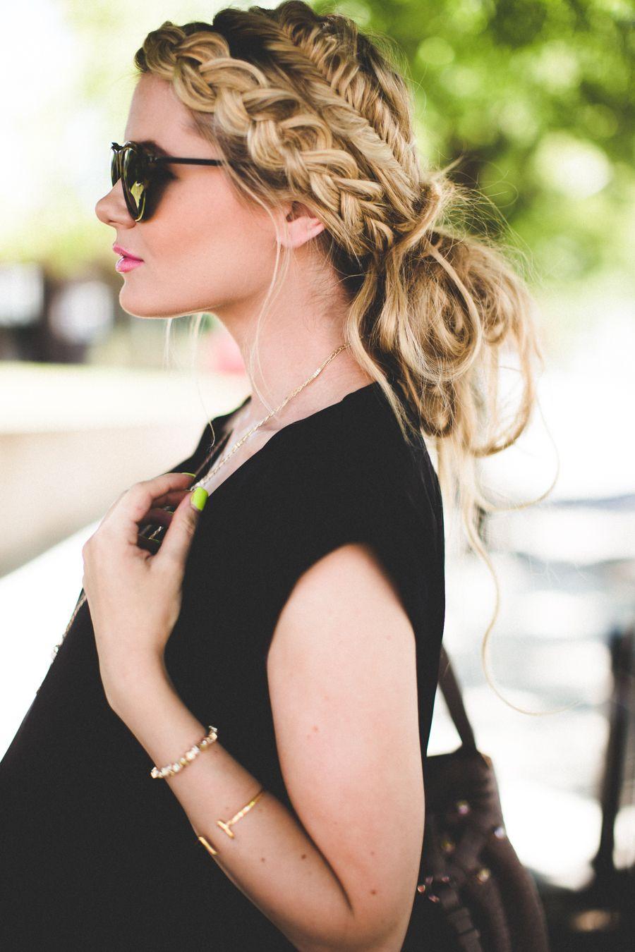 Photo from tumblr fashion pinterest barefoot blonde bun hair