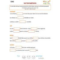 Exercices de grammaire CM1 sur Tête à modeler (avec images)   Grammaire cm1