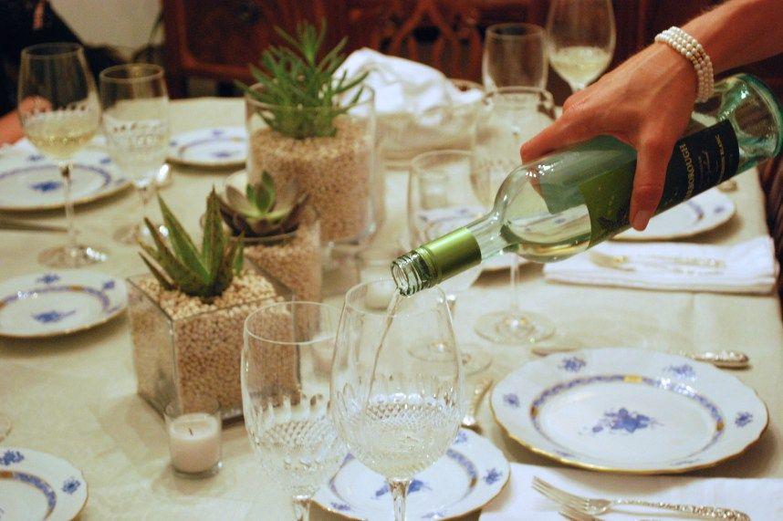 Dinner Party Timeline