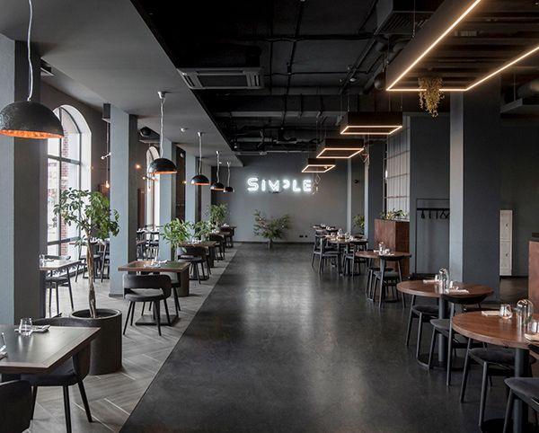 SIMPLE restaurant on Behance | Restaurant interior design ...