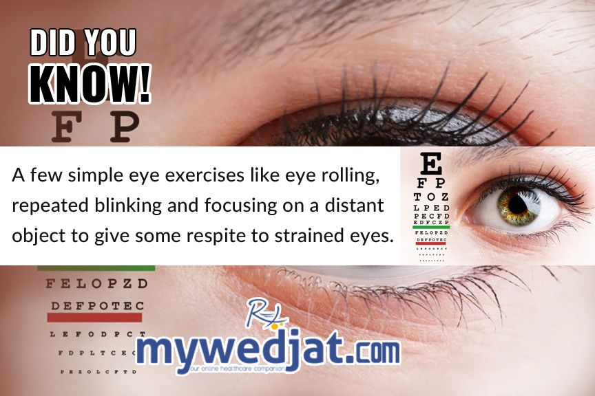 Did You Know ? visiontherapy eyehealth excersise