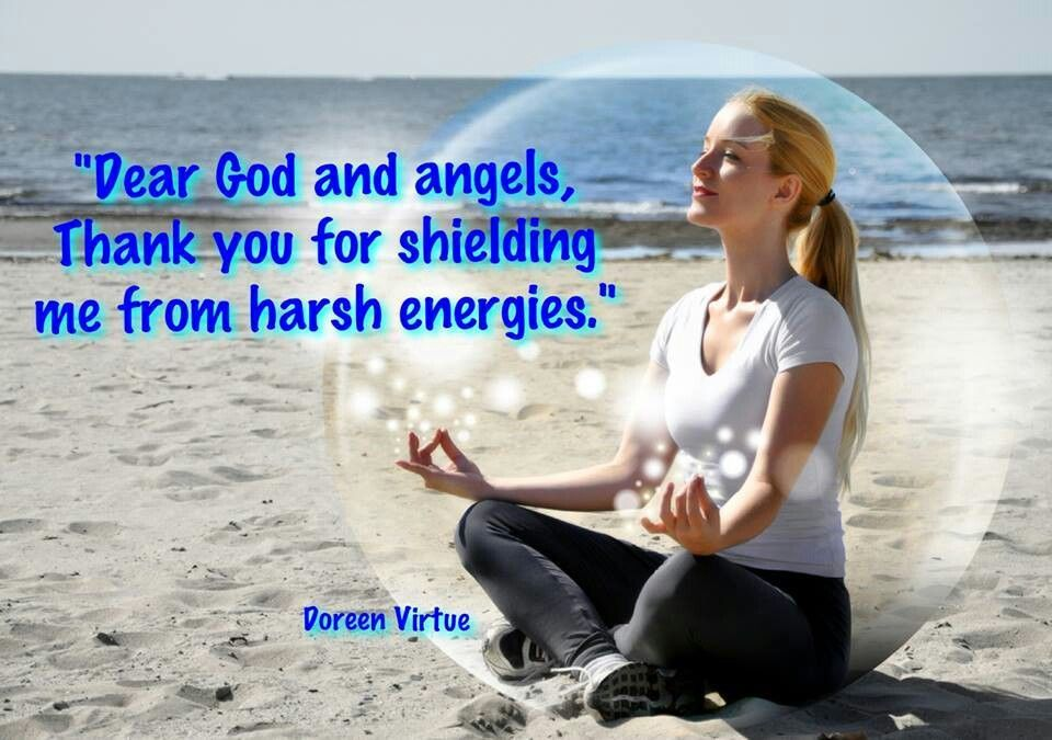 Dear God and Angels...thank you Doreen Virtue quote (With