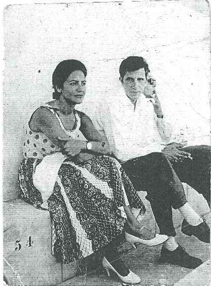 Minha mãe (Vera) meu pai (António ).Mozambique anos cinquenta.