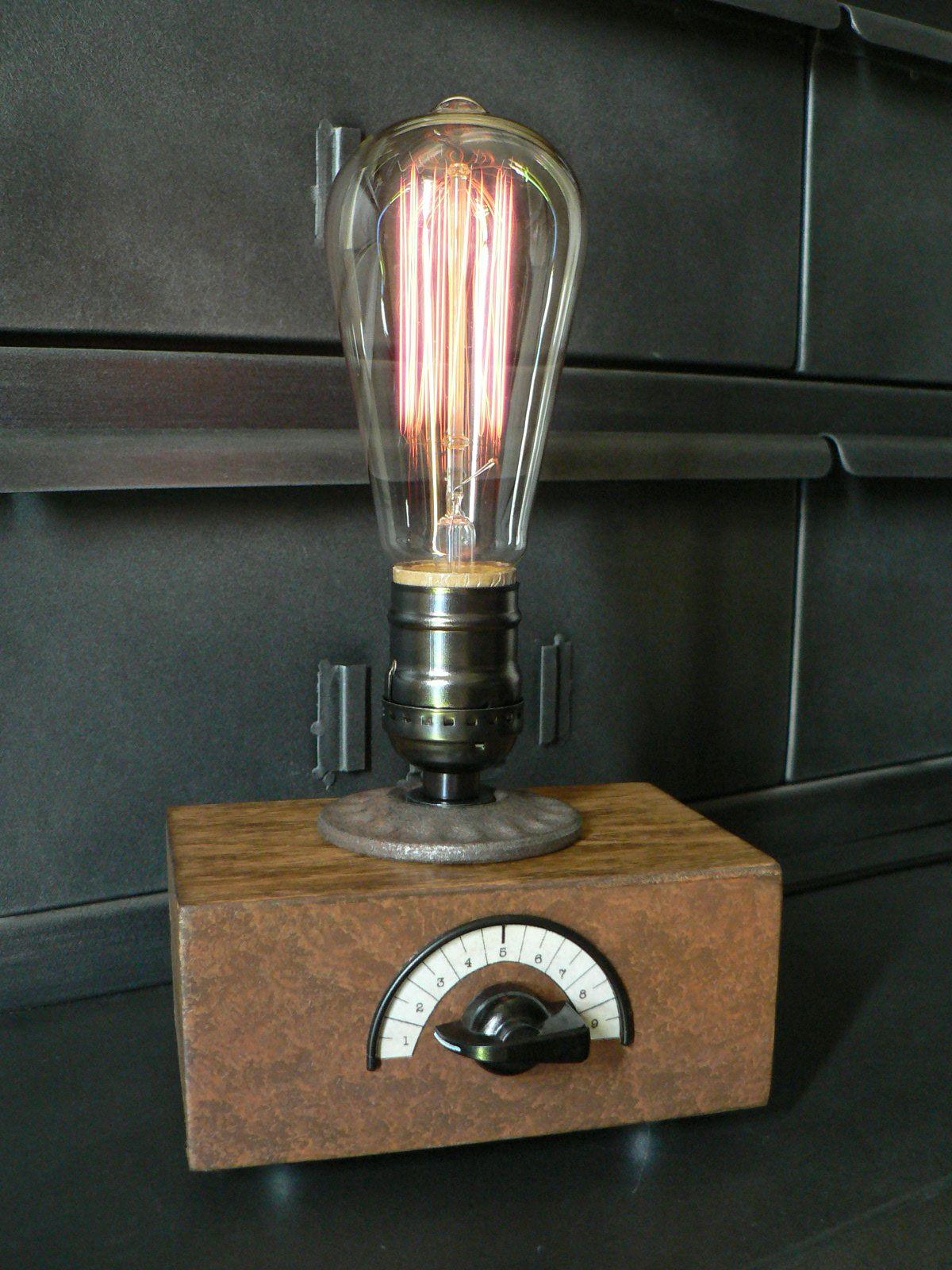 lampes de style Industriel Steampunk par Luminantic