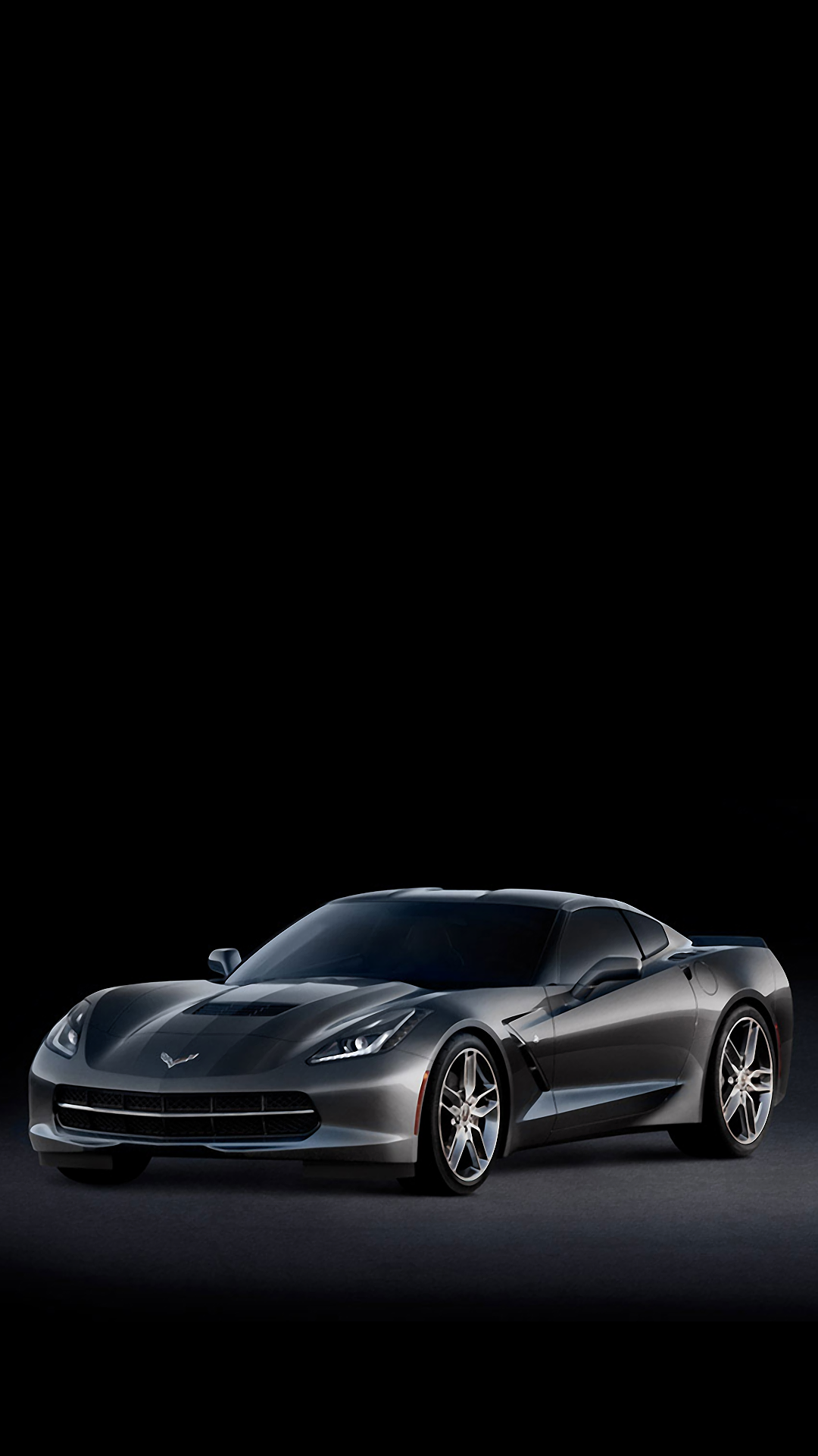 C7 Corvette Stingray Side iPhone 6 plus Wallpaper