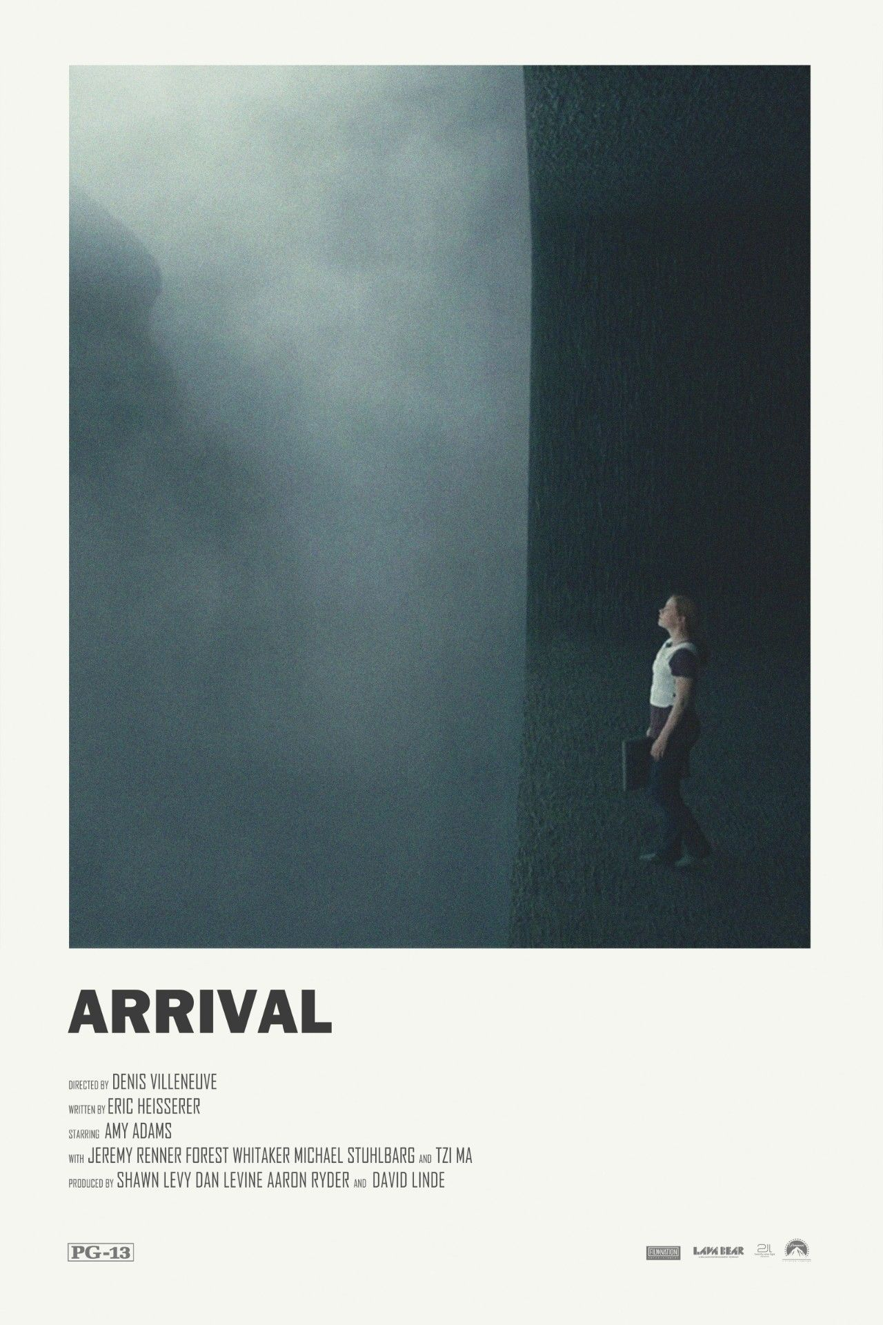 arrival alternative movie poster visit my store c4films