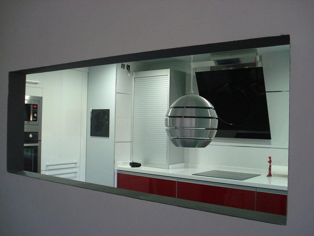 Cómo rematar un pasaplatos   need ideas for a kitchen hatch ...