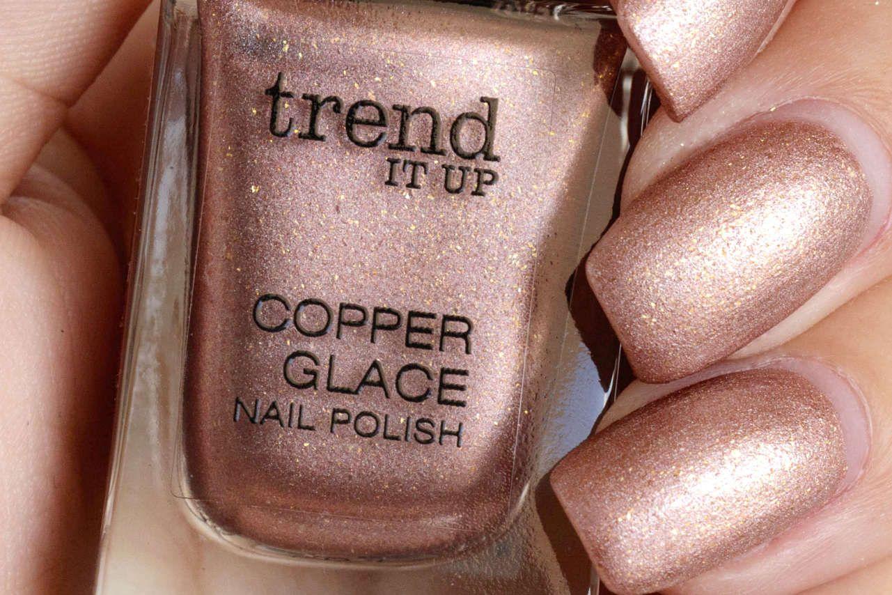 trend IT UP Copper Glace Kupfer für deine Nägel | Make up