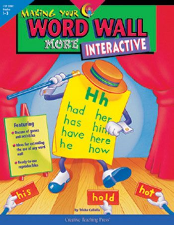 Making Your Word Wall More Interactive by Creative Teaching Press ...