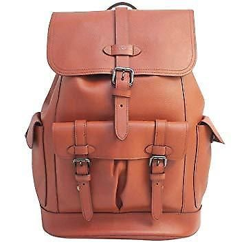 c0eb26c014 New Coach Mens Hudson Backpack Terracotta Natural Leather F23202 MSRP 695   fashion  clothing  shoes  accessories  mensaccessories  bags (ebay link)