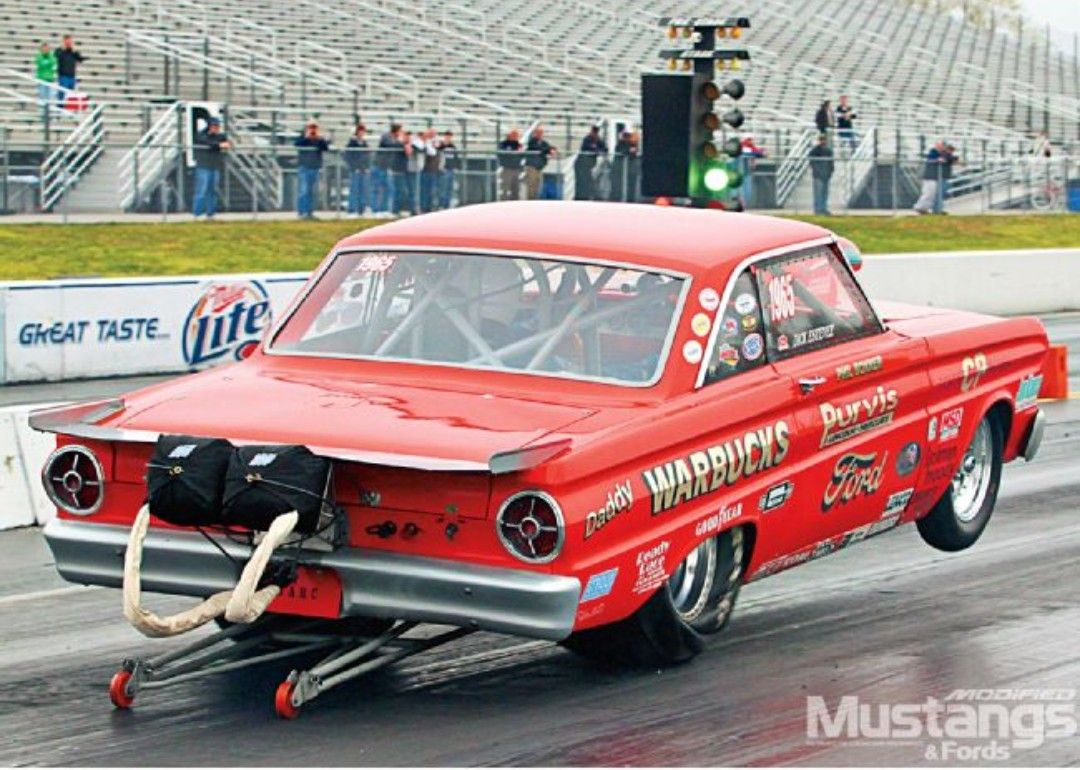 65 Ford Falcon Drag Racing Cars Old School Muscle Cars Drag Racing